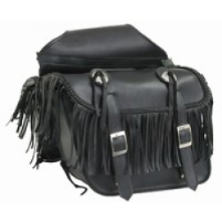PVC Saddlebag w/Tassles