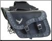 Motorcycle Saddlebags Two Tone with Eagle