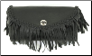 Windshield Bag w/Braid & Fringes
