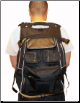 Motorcycle Backpack w/ helmet holder